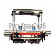 Фото  устройства для разравнивания насыпных грузов в полувагонах
